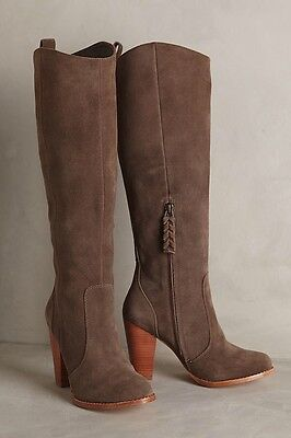 Anthropologie Joie Dagny Boots Suede Knee High Size 5.5 New Women's MSRP: $240