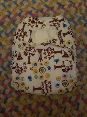 New Thirsties Newborn All In One Cloth Diaper