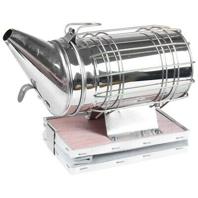 1X(Stainless Steel Bee Smoker Beekeeping Smoker R3T6)