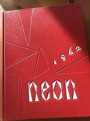 Youngstown University Neon Yearbook 1962 Youngstown, Ohio