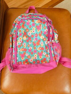 Kids Girl Pink Flower Backpack