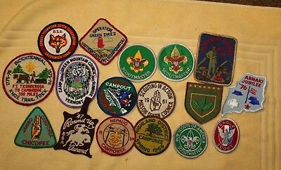 Vintage Boy Scout Patches 40's 60's, 70's And More