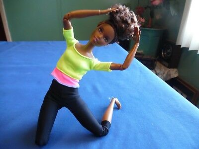 Barbie Made To Move  African American  Doll