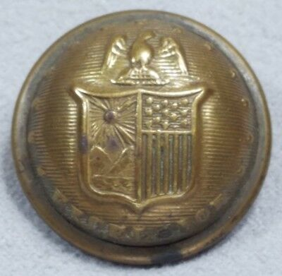 Original Civil War Federal New York Staff Officers Coat Button