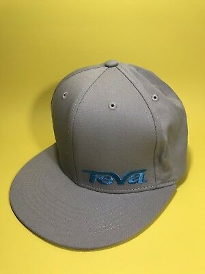 8d797e193 Teva Mountain Games Vail Gray Baseball Cap Hat 57cm Stretch Colorado NICE!  HB