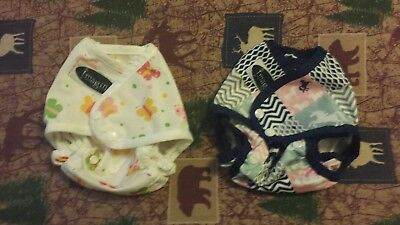 Imagine One-size Diaper Covers lot of 2