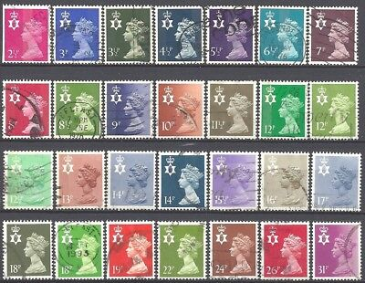 GB Country Definitives - Northern Ireland  - Decimal (Used) (Lot #3633)