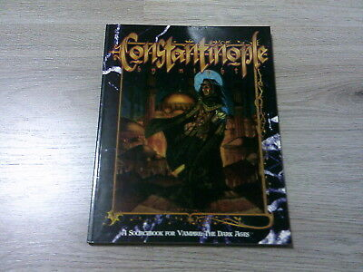 Vampire The Dark Ages Constantinople by Night Sourcebook 1997 White Wolf WW2803