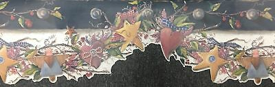 Wallpaper Border Dado Frieze Country Angels Stars Hearts Leaves Laser Cut edge