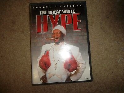 The Great White Hype - DVD - VG+