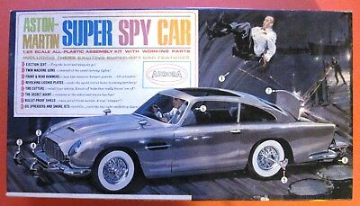 Aurora, Aston Martin, Super Spy Car, 1965, Parts Only, Not Complete, As Is