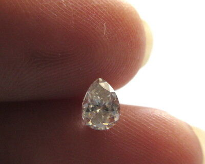 1 Piece 5.5mm Pear Shaped GH/VS2 Colorless Moissanite Diamond Loose MM140/25