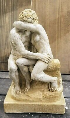 The Kiss Nude Classical Statue Rodin Sculpture