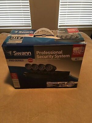 Swann security system - 4 Channel 960H Pro-series