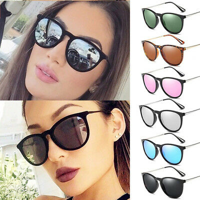 Womens Polarized Sunglasses Eyewear Retro Mirror UV400 Desinger Shades Glasses