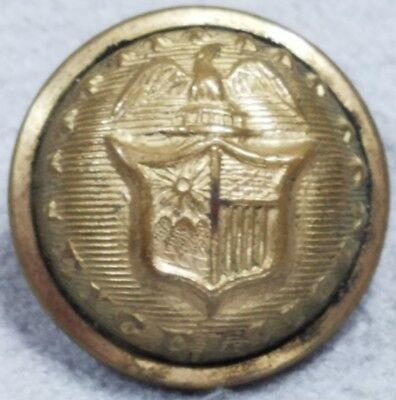 Original Civil War Federal New York Staff Officers Cuff Button