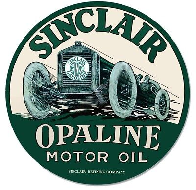 Sinclair Gasoline Opaline Motor Oil  Advertising Signs on Custom Tee shirts .