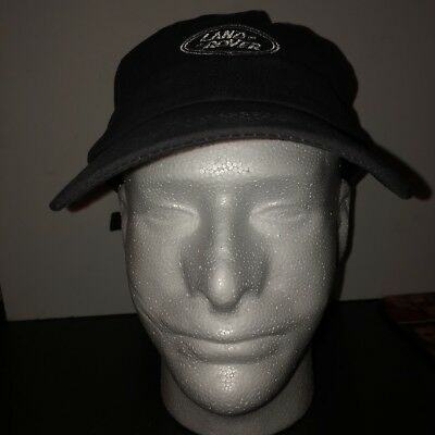 LAND ROVER Range Grey Baseball Cap Hat Logo Embroidered One Size Adjustable NWT