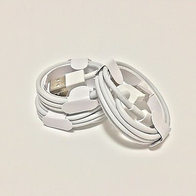 3 PACK Lightning USB CHARGER CABLE For Original Genuine Apple iPhone 6 7 8 X