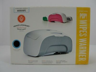 Prince Lionheart Wipes Warmer Pop - Baby Keeps Moist Fresh Grey Infant Changing