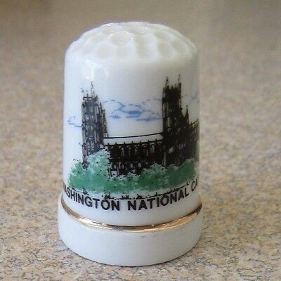 Washington National Cathederal Collectible Thimble