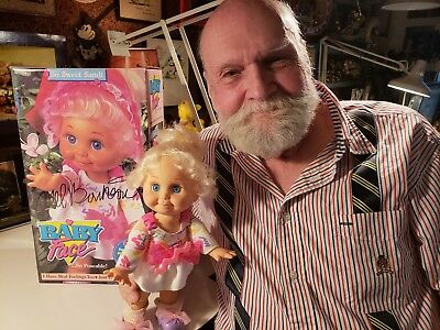 Galoob Baby Face Doll. MEL BIRNKRANT MINT COLLECTION, SIGNED. SO SWEET SANDI.