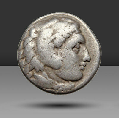 """Kings of Macedon. Alexander III """"the Great"""" 336-323 BC Silver Drachm, Abydos"""