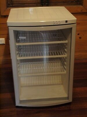 Danish Tefcold 91 litre  wine cooler refrigerator.Glass door. 500x800x540mm 34kg