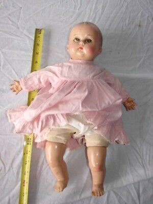 Vintage Composition Doll 16 Inch R & B Arranbee Soft Stuffed Body Restore Parts