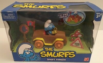 2008 THE SMURFS Play Along Smurf Vehicle NEW in Box RARE
