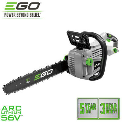 NEW EGO 16 Inch 56V Lithium Battery Chainsaw Cordless Electric Garden Tools