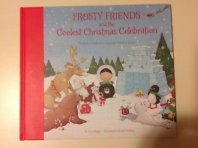 2018 HALLMARK FROSTY FRIENDS and COOLEST CHRISTMAS CELEBRATION Book 3rd RARE