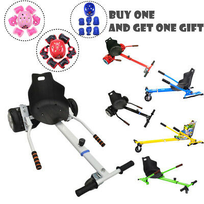 """Go Cart Kart Holder Seat For 6.5""""/8""""/10"""" Hover Balancing Control Scooter & Gift"""