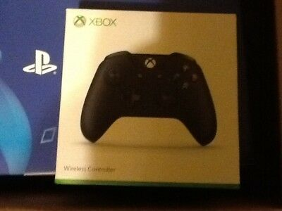 Microsoft Xbox One S Wireless Black Controller!  New Sealed Package! 6Cl-00002