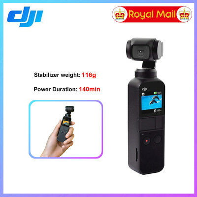 Genuine DJI OSMO POCKET Hand held Action Camera 3 Axis Gimbal Stabilizer