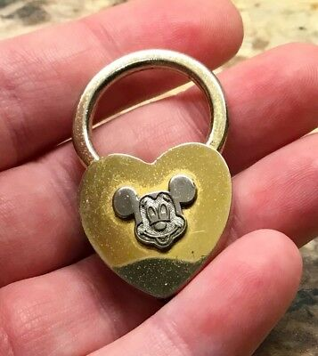 Antique Mickey Mouse Lock