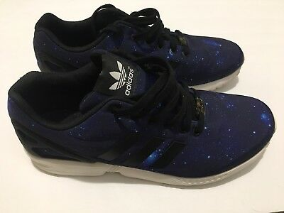 super popular 01ab3 fc78c ADIDAS MEN'S SHOES Size 10.5 ZX Flux Galaxy
