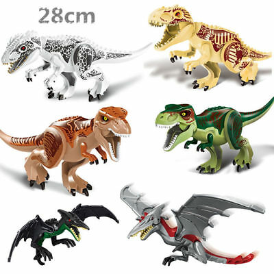 Indominus Rex XXL Large Full Size Dinosaur Figure Blocks Fit Lego Toys Set