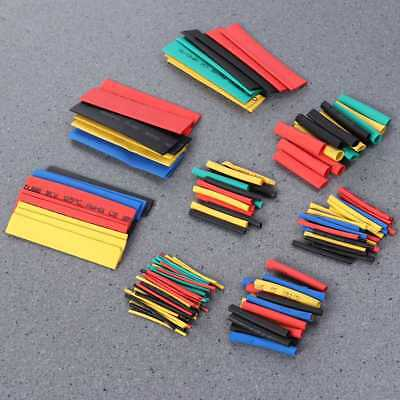 328x Heat Shrink Tubing Tube Sleeve Kit Car Assorted Wire Wrap Electrical Cable