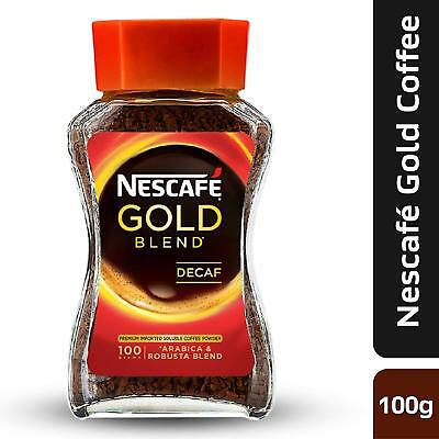 Nescafe coffee  Gold Blend Decaf Coffee, 100g