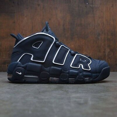 f8dbaf466c Nike Air More Uptempo 96 Obsidian UK Size 12 Genuine Authentic Mens Trainers