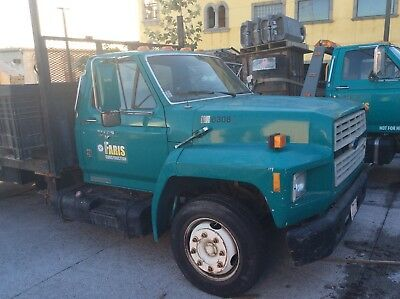 1993 Ford F600 Flatbed