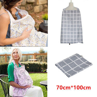 New Breastfeeding Nursing Cover Baby Feeding Udder Apron Cotton Blanket 70*100cm