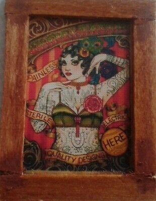 Dolls House  A lovely  Circus (tattooed lady) Picture