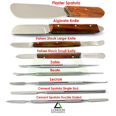 Dental Laboratory Technician Wax & Modelling Carvers Kit Tools Mixing Spatula CE