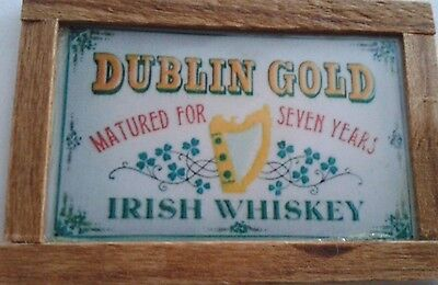 Dolls House Dublin Gold Irish Whiskey Picture