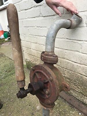 vintage cast iron water hand pump /fuel pump no3