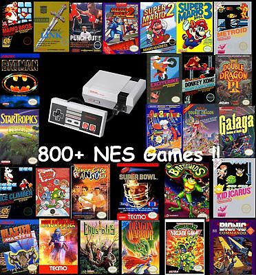 Nintendo Entertainment System: NES Classic Mini Edition Modded 800+ NES Games!!