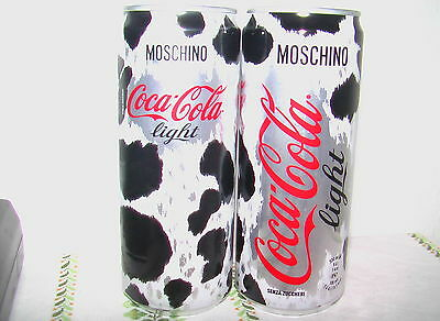 Coca Cola LIGHT Dose - 330 mL - aus ITALIEN - Edition: MOSCHINO 2 - Neu!