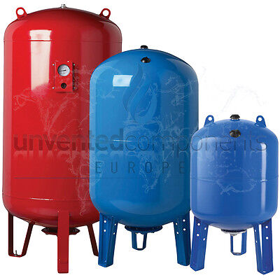 RWC 300, 500, 750, 1000 LTR Replaceable Membrane Potable Expansion Vessel